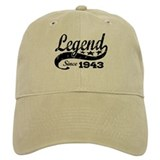 Legend Since 1943 Casquettes de Baseball