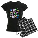 Crazy Cesky Lady pajamas