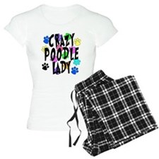 Crazy Poodle Lady Pajamas