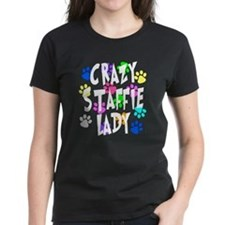 Crazy Staffie Lady Tee