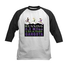 RUNNING IS SO GANGSTA 10K Baseball Jersey