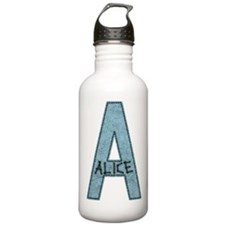 A For Alice Water Bottle