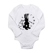 Rabbit Late Long Sleeve Infant Bodysuit