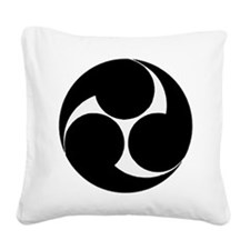 Okinawan Shorin Ryu Karate Square Canvas Pillow