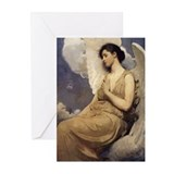 Winged Angel Vintage Greeting Cards (Pk of 10)
