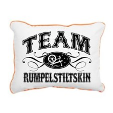 Team Rumpelstiltskin Rectangular Canvas Pillow