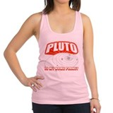 PLUTO-IS-MY-HOME-PLANET_BL.png Racerback Tank Top