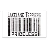 Lakeland Terriers Rectangle Decal