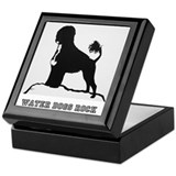 Water Dogs ROCK! Keepsake Box