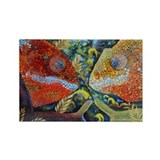 Butterfly photography Rectangle Magnet