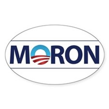 Obama Logo MORON Decal