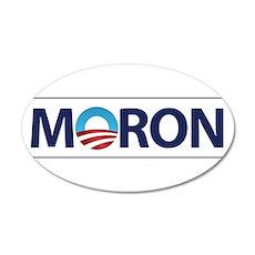 Obama Logo MORON Wall Decal