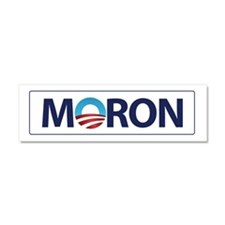 Obama Logo MORON Car Magnet 10 x 3