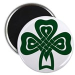 Celtic Shamrock 2.25&quot; Magnet (100 pack)