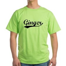 Vintage Ginger (Black) T-Shirt