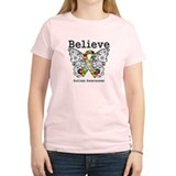 Believe Butterfly Autism T-Shirt