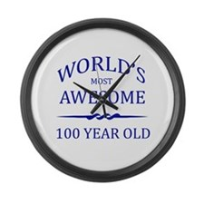World's Most Awesome 100 Year Old Large Wall Clock