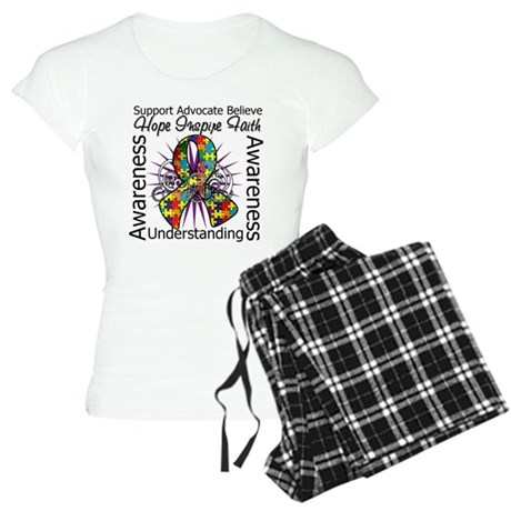 Autism Awareness Inspirations Women's Light Pajama