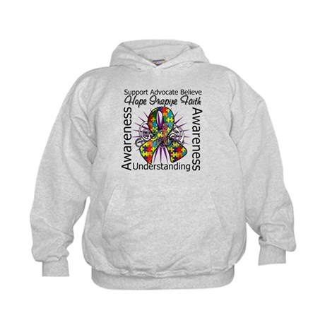 Autism Awareness Inspirations Kids Hoodie