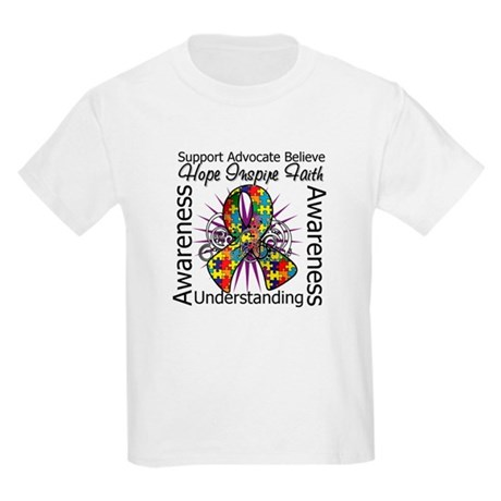 Autism Awareness Inspirations Kids Light T-Shirt