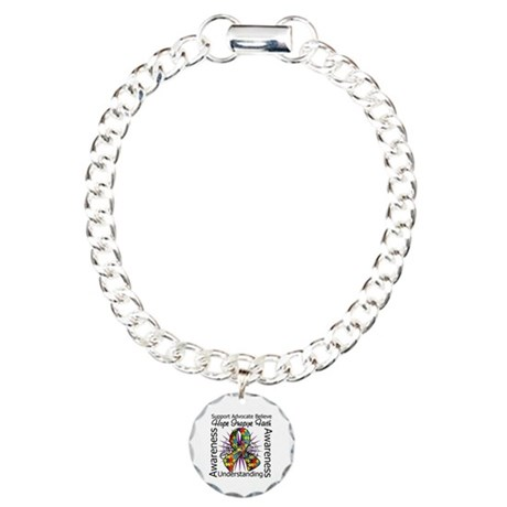 Autism Awareness Inspirations Charm Bracelet, One