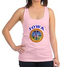 Iowa State Seal Racerback Tank Top