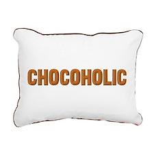 Chocoholic Rectangular Canvas Pillow