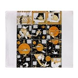 Little nemo in dreamland saturn Throw Blanket