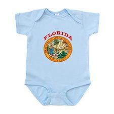 Florida State Seal Infant Bodysuit