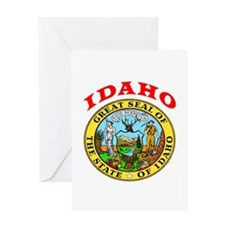 Idaho State Seal Greeting Card
