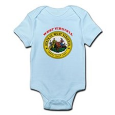West Virginia State Seal Infant Bodysuit