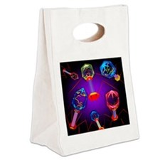 Bacteriophages - Canvas Lunch Tote