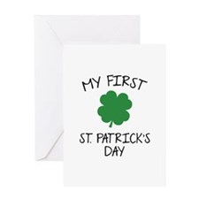My First St. Patrick's Day Greeting Card