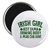 Irish Girl 2.25&quot; Magnet (10 pack)