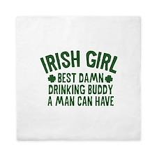 Irish Girl Queen Duvet