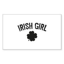Irish Girl Decal