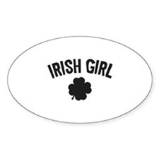Irish Girl Decal