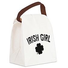 Irish Girl Canvas Lunch Bag