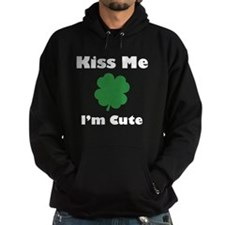 Kiss Me I'm Cute Hoody