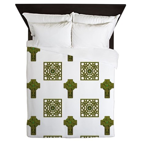 Irish Cross Queen Duvet