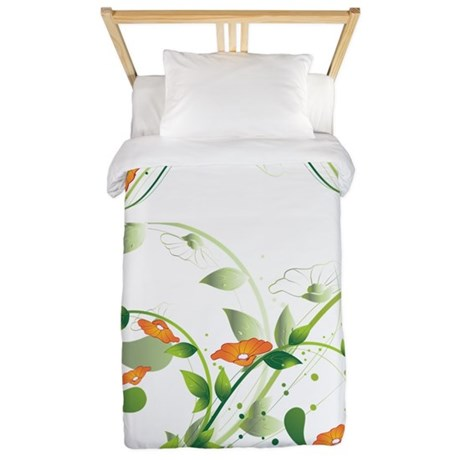 California Poppies Twin Duvet