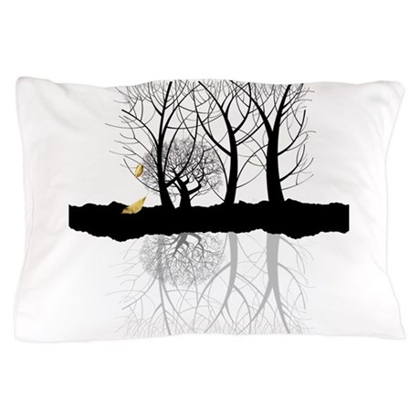 Last leaves of Autumn Pillow Case