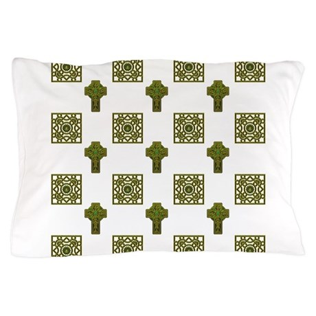 Irish Cross Pillow Case