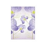 Lavender Sweet Peas Floral 5'x7'Area Rug