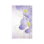Lavender Sweet Pea Floral 3'x5' Area Rug