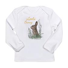 """Little Bunny"" Long Sleeve Infant T-Shirt"