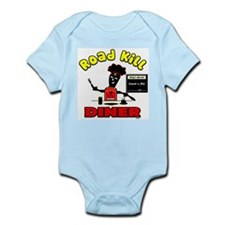 Road Kill Diner Infant Bodysuit