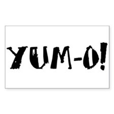 YUM-O! Rectangle Decal