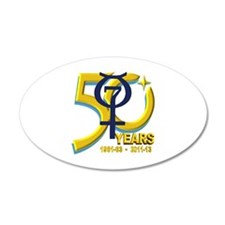 Mercury's 50th Anniversary! Wall Decal