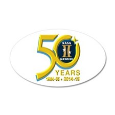 Gemini's 50th Anniversary! Wall Decal